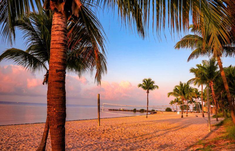 Beach in Key West, Florida