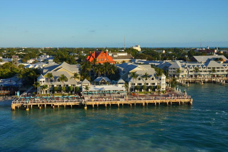 Docks on Marathon Florida