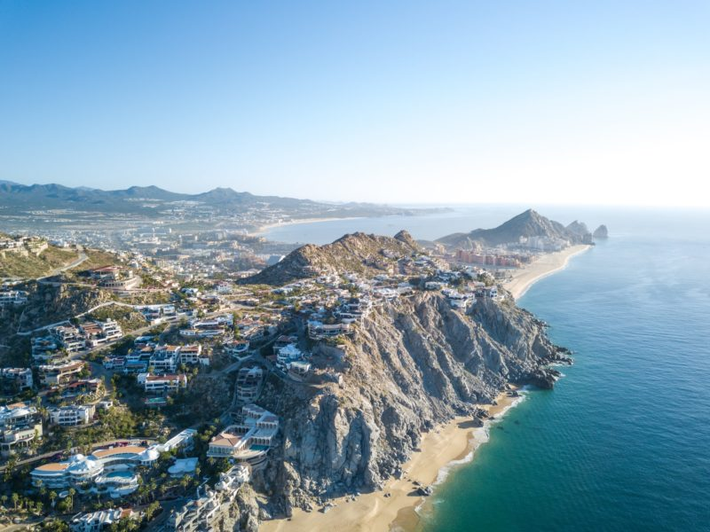 View of Cabo San Lucas' Coastline