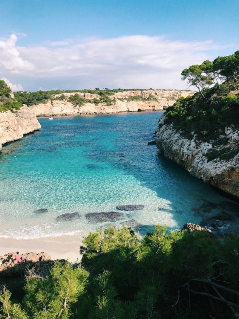 A beach in Menorca, Balearic Islands
