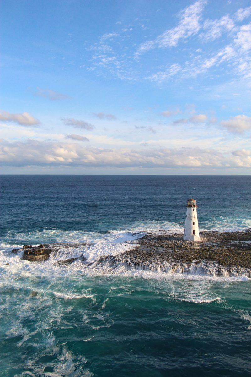 Lighthouse in Eleuthera, Bahamas