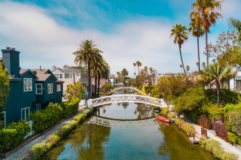 The Canals of Venice Beach, Los Angelos