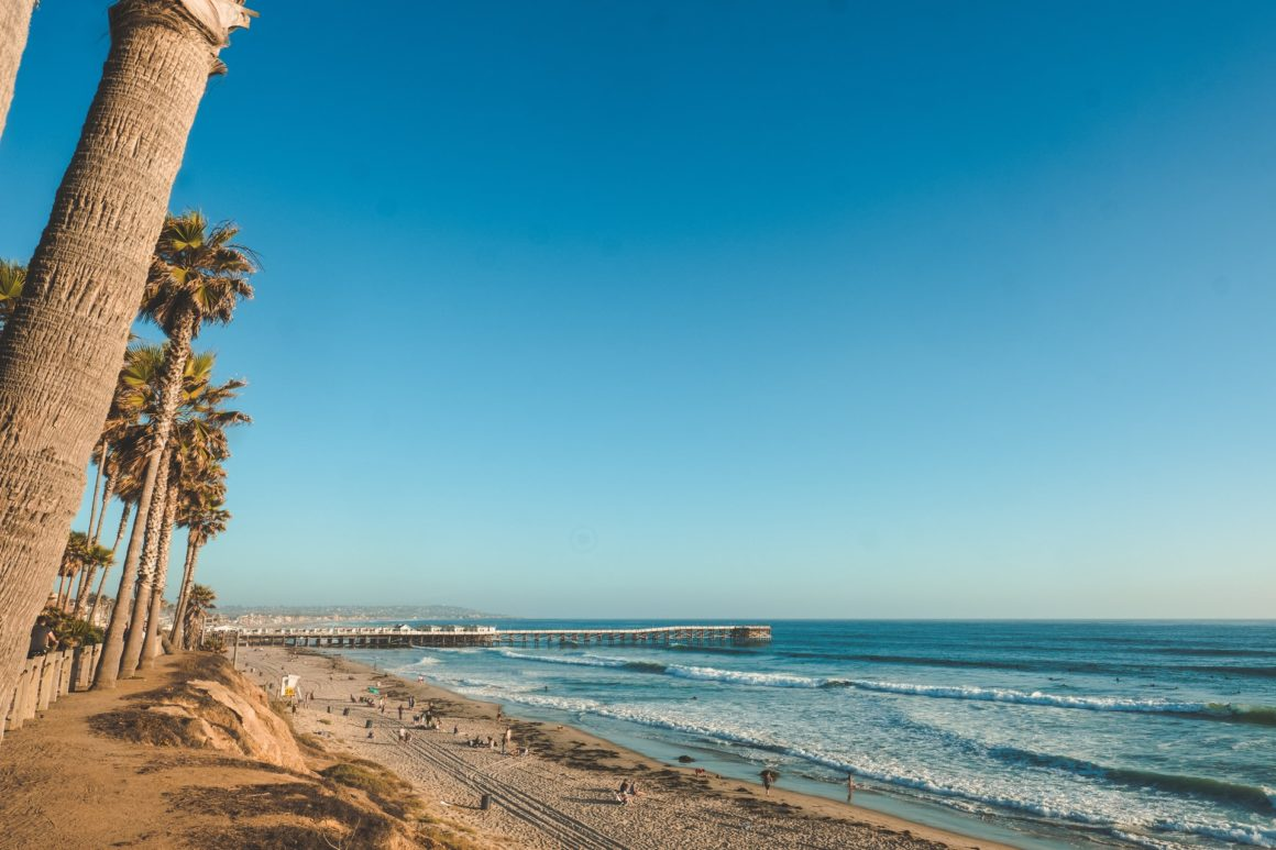 View of Pacific Beach, San Diego