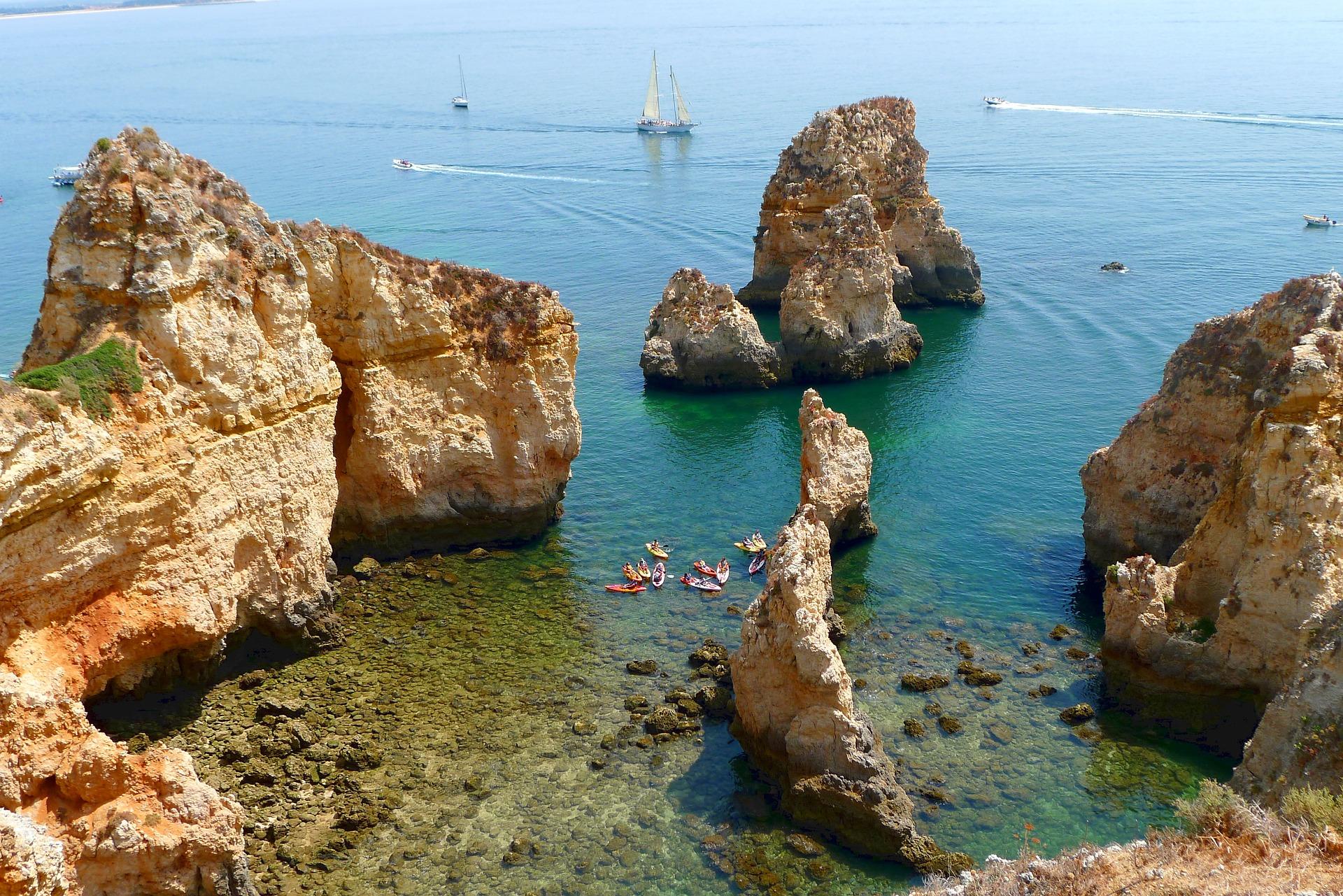 Sailing the Algarve Coast