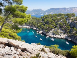 Calanques in South of France