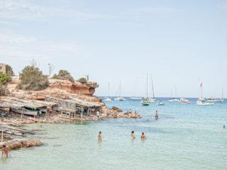 Spanish island of Formentera
