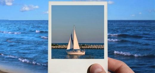 Polaroid bateau