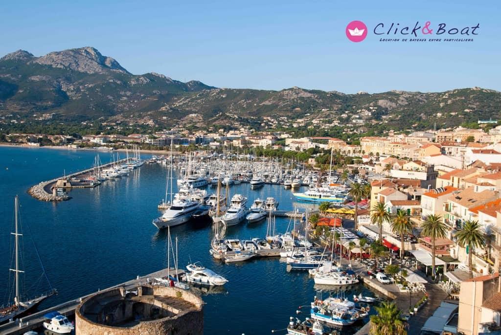 Click & Boat - location de bateaux à Calvi