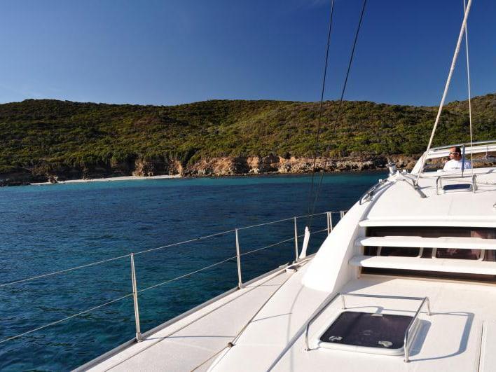 Location de catamaran en Corse, à Saint-Florent