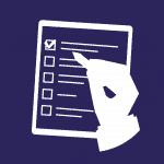 Checklist bleu