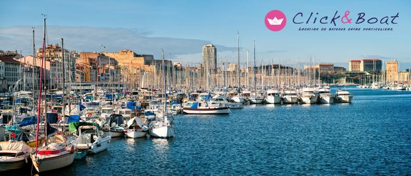 Click & Boat location de bateaux à Marseille