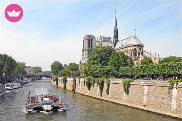 Location de bateaux à Paris