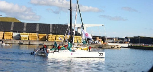 Click & Boat sponsorise Hervé de Carlan