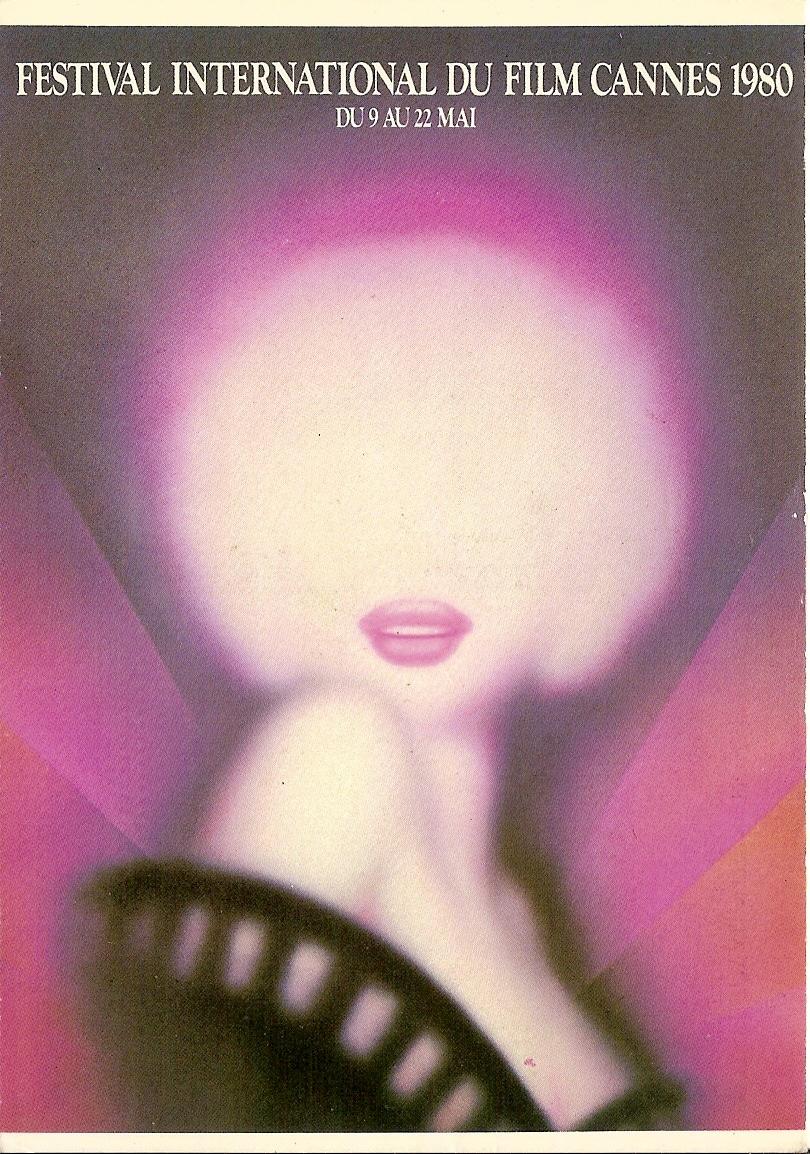 Affiche officielle du Festival de Cannes 1980... et 1981