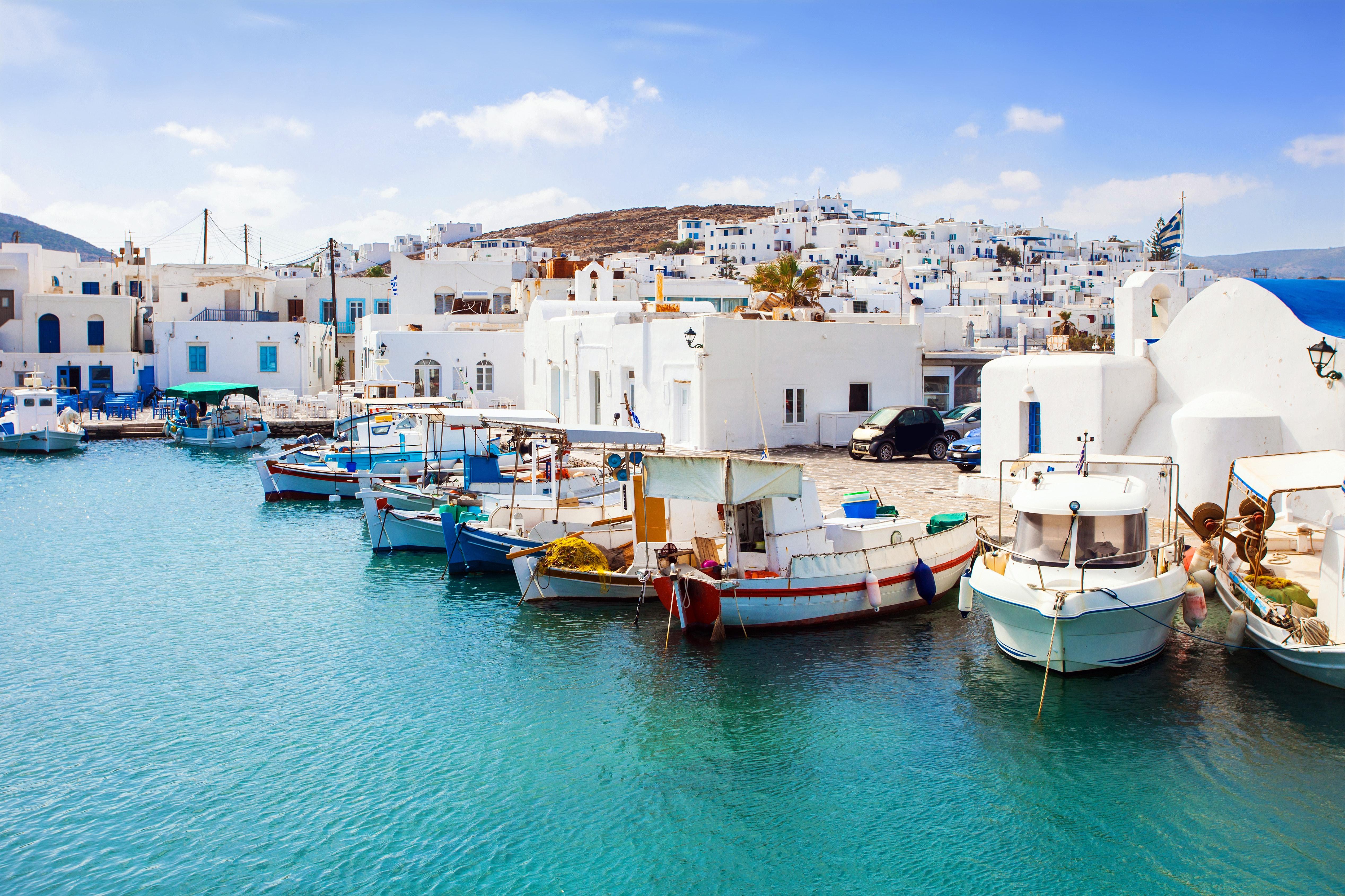 où partir en grece cette année