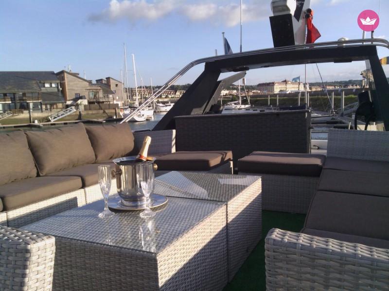 Saint-Valentin sur un yacht à deauville