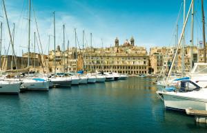 Location de bateau dans le port de Malte