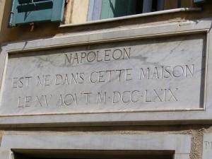 La maison où Napoléon est né à Ajaccio