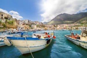 location bateau Sicile