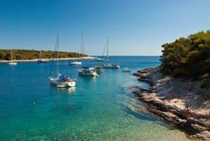 Location bateau Croatie - île pakleni