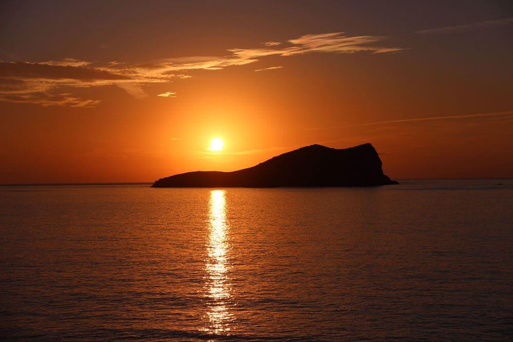 coucher de soleil ibiza