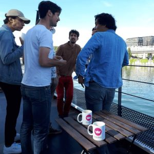 Petit déjeuner team Click&Boat