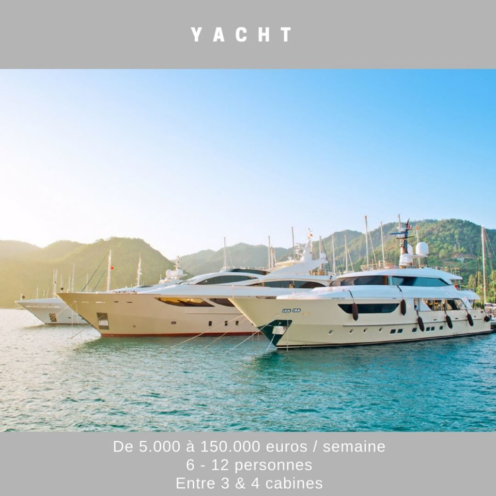 location yacht