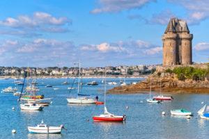 location bateau Saint Malo