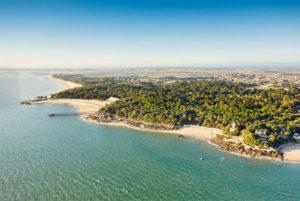 vue aérienne noirmoutier