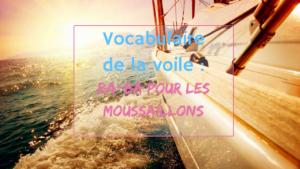 vocabulaire de la voile