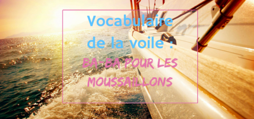 vocabulaire de la voile