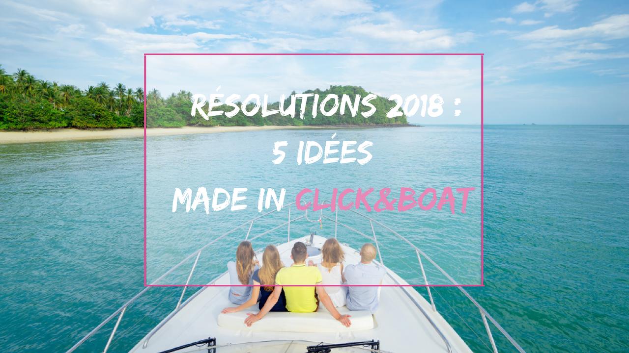 bonnes resolutions 2018