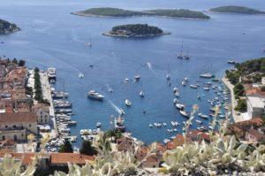 croisiere navigation croatie
