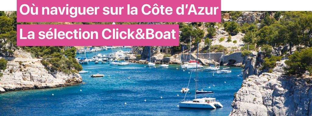 guide navigation cote azur