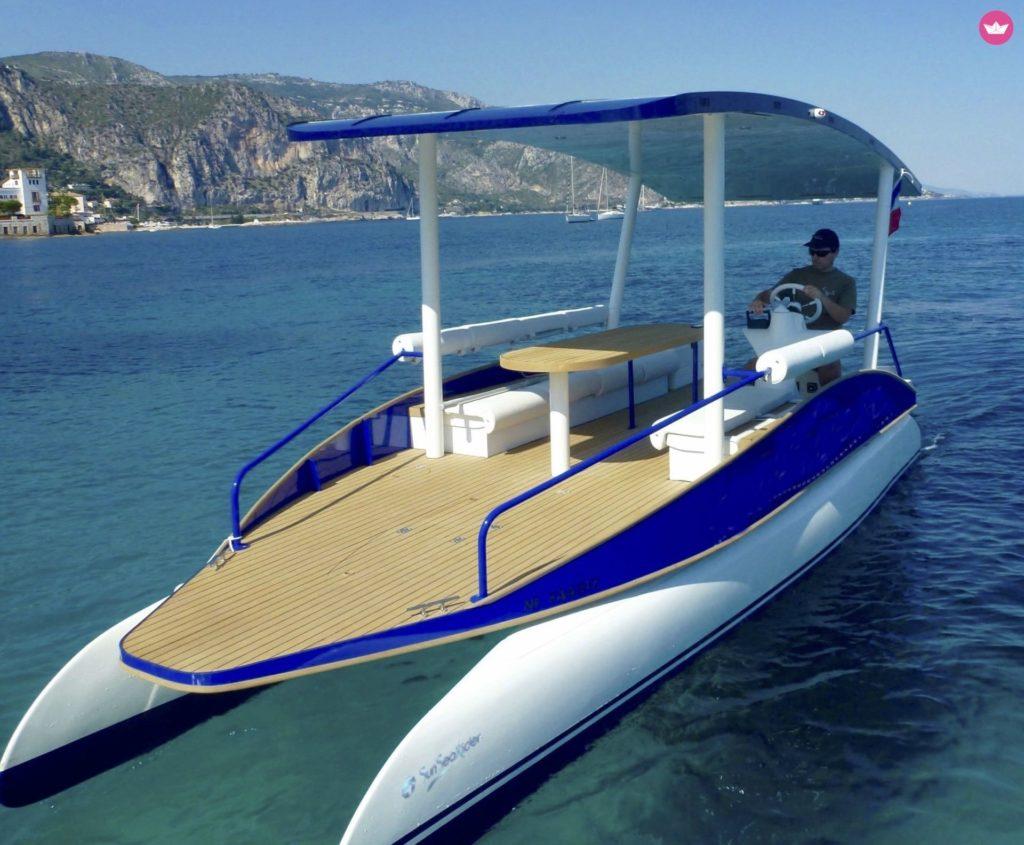 location bateau solaire