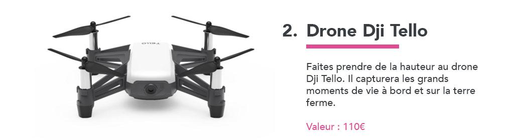 jeu concours drone