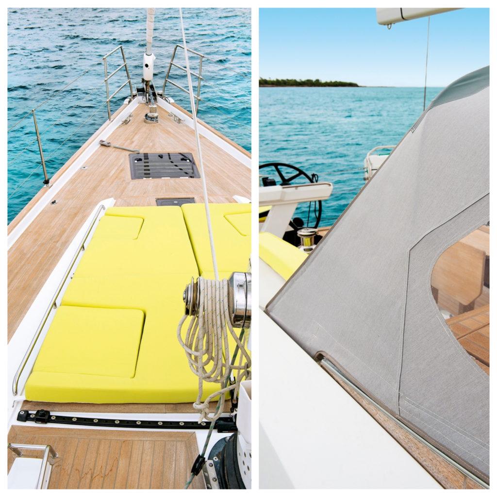 Sunbrella equipement bateau