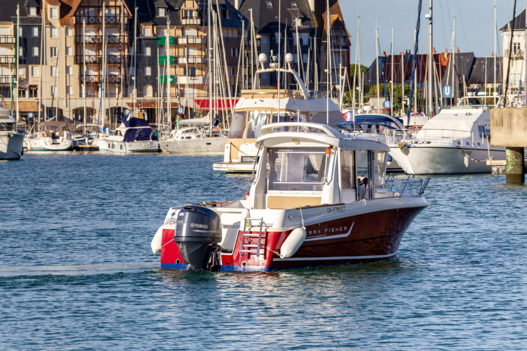 location bateau Normandie