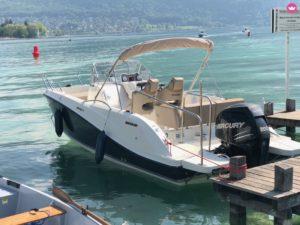 location bateau Annecy