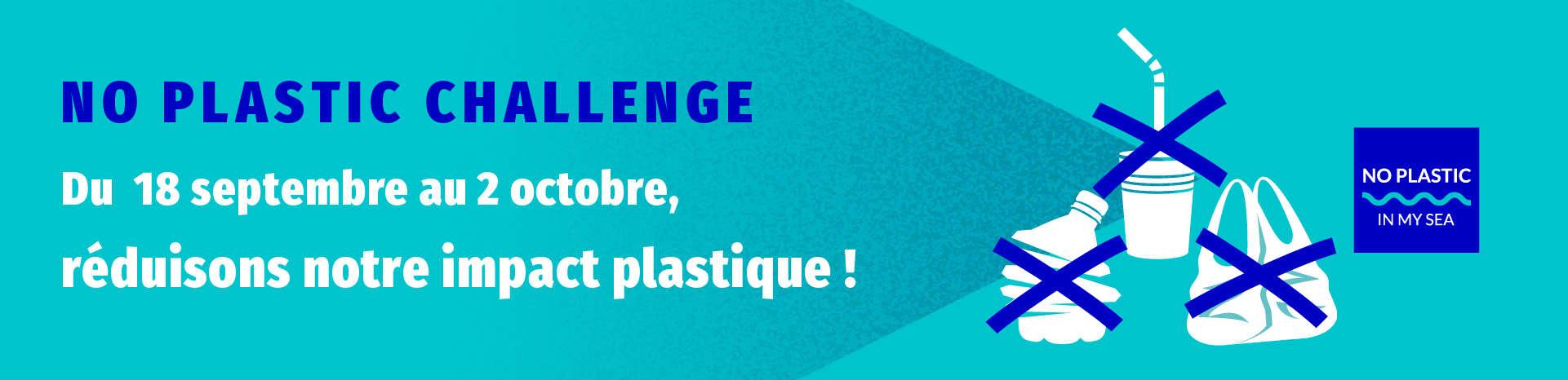 participer au no plastic challenge
