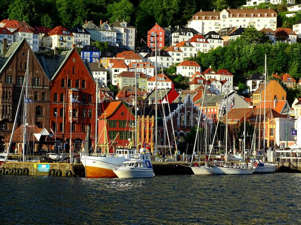 location bateau norvege