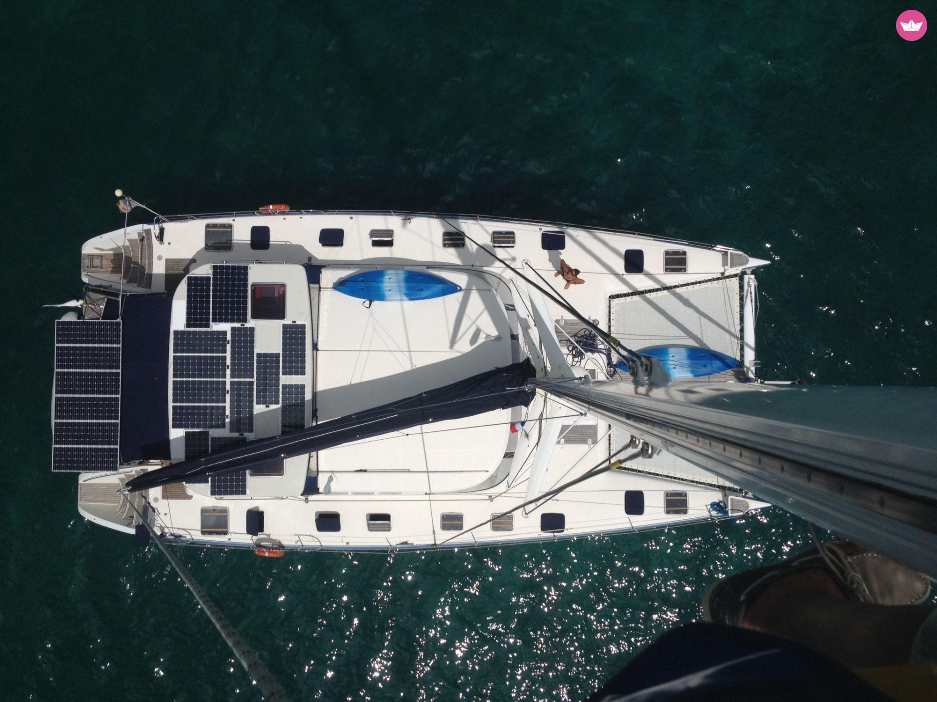 catamaran propriétaire bateau