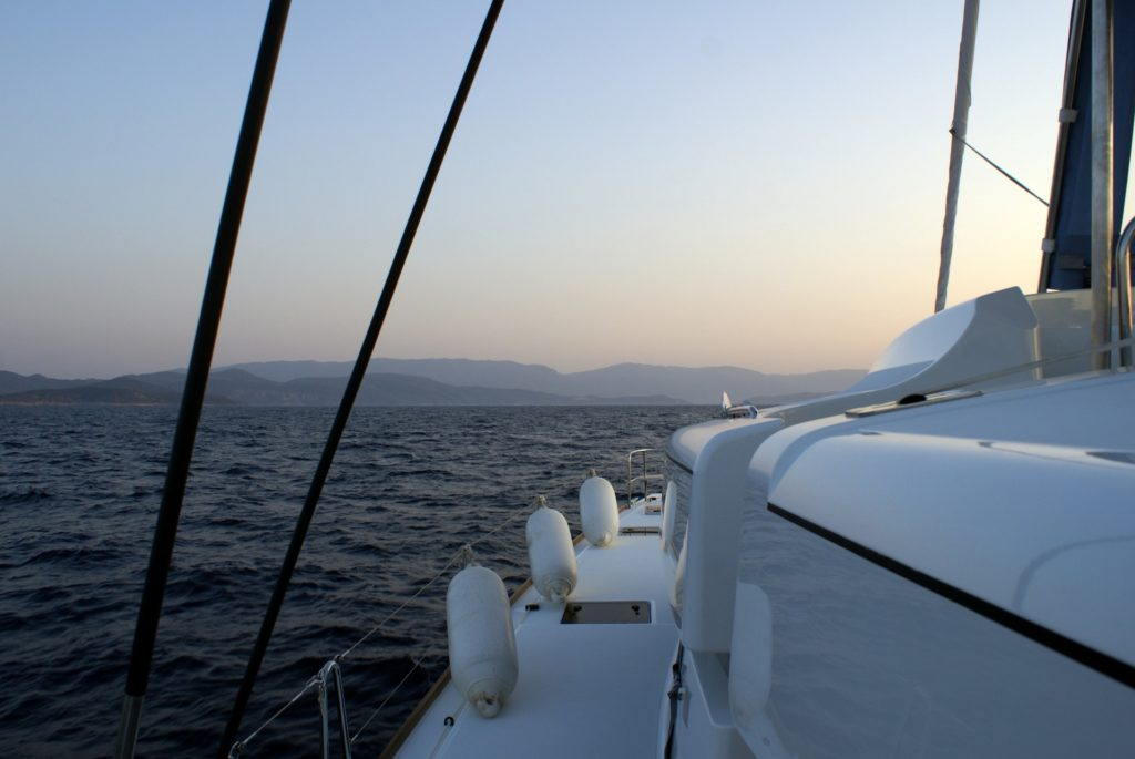 Croisière catamaran Cyclades