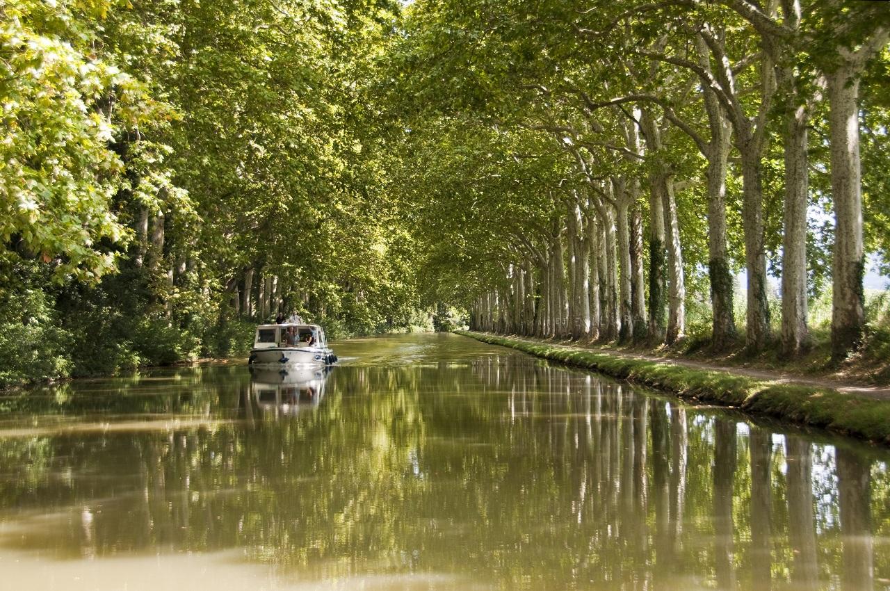 location péniche canal du midi