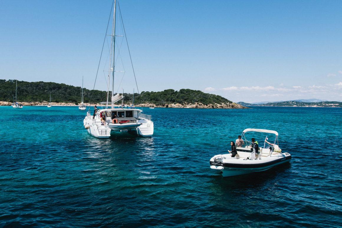 formation catamaran