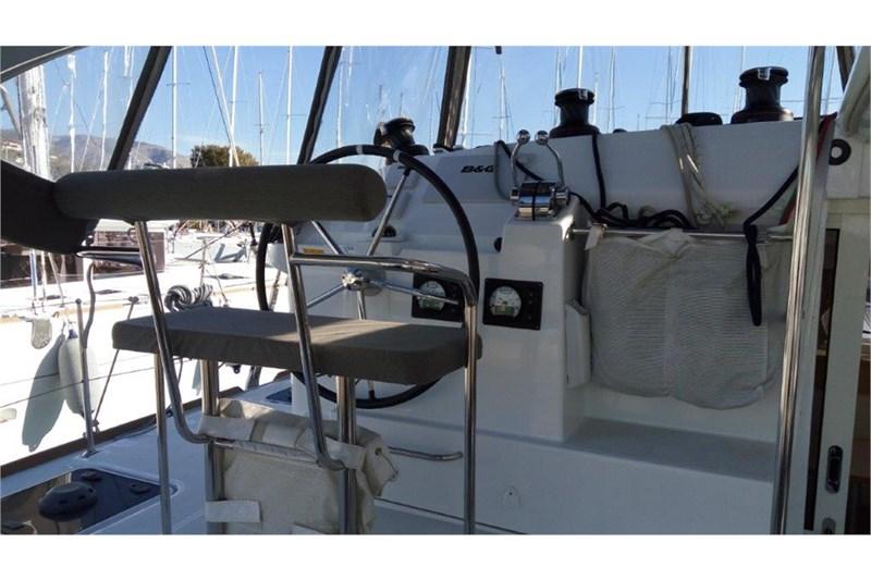 Navigation à bord d'un Lagoon 400 S2