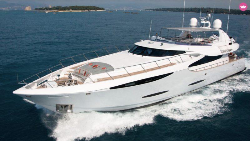 Sortie en mer en yacht
