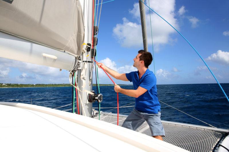 partir en bateau avec un skipper