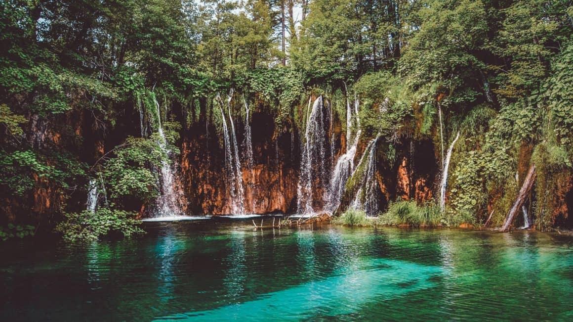 lac plitvice en croatie