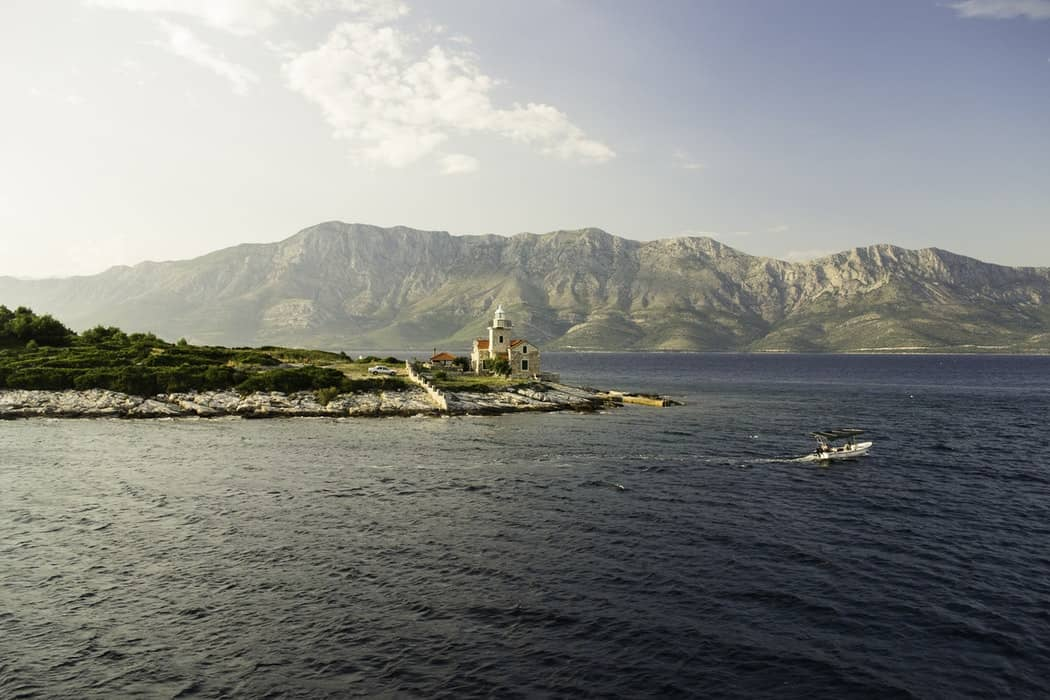 visiter la croatie depuis la mer